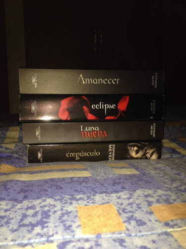 libros - saga completa de crepusculo (4 libros)
