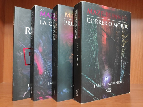libros saga maze runner de james dashner
