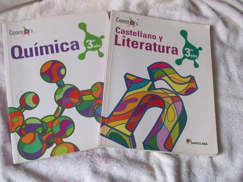 libros santillana varios niveles y materias