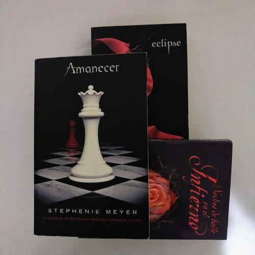 libros serie crepusculo: amanecer y eclipse  stephenie meyer