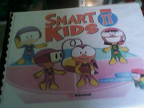 libros smart kids  de ingles i, ii y iii  180 mil