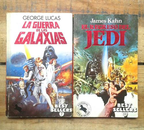 libros star wars - el regreso del jedi