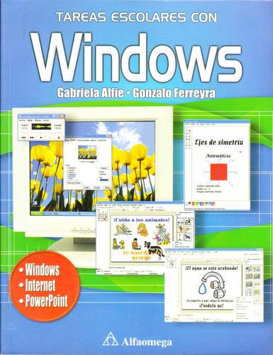 libros tareas escolares windows; tareas escolares con word