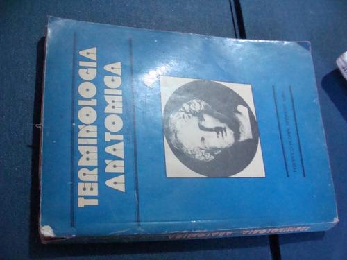 libros terminologia anatomica , dr. ives chain   , año 1975