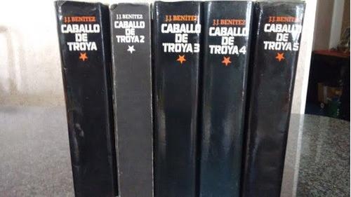 libros usados caballo de troya set de 5