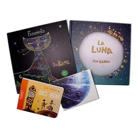 Libros Y Discos Dúo Karma Pack 4