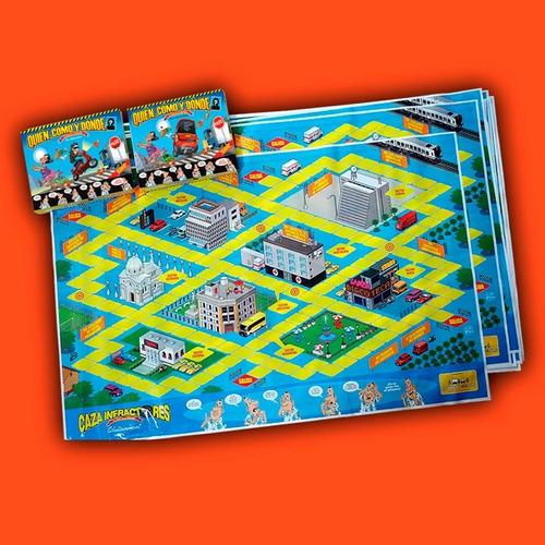 librosderol - juego quién, cómo y dónde - automovil cluedo