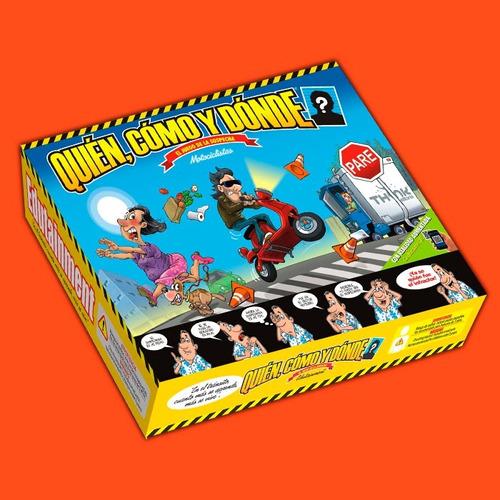 librosderol - juego quién, cómo y dónde - motociclistas clue