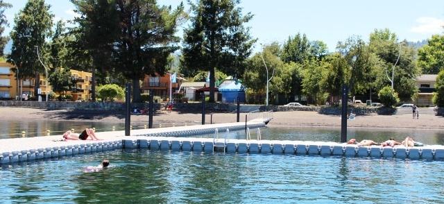 lican ray 6 cabañas a 100 mts de lago capacidad 50 personas