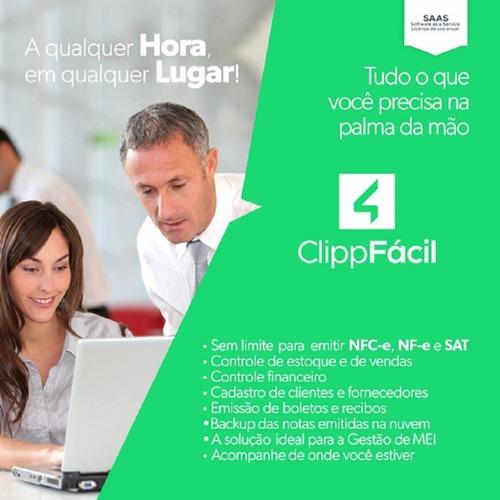 licença anual clipp fácil compufour (para empresas mei)