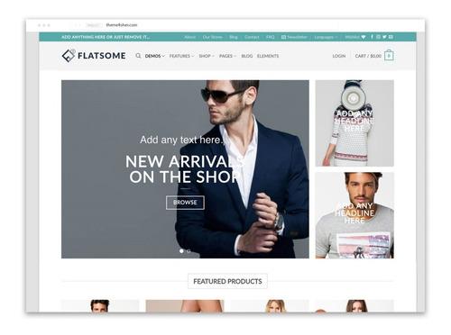 licença flatsome 2019 o verdadeiro código de ativação ilimitada o verdadeiro tema flatsome com chave incluída