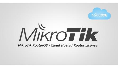 licença mikrotik chr (clouded hosted router)  p-ilimitado
