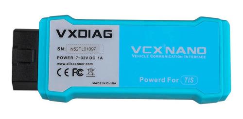 licenca para vcx nano todas montadoras vcxdiag
