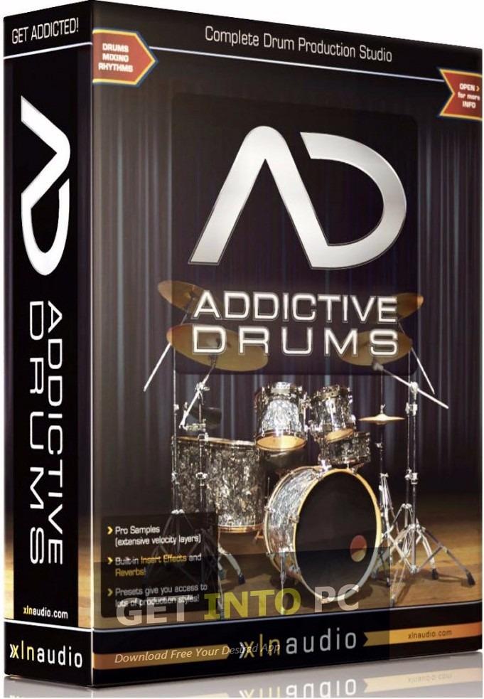 licencia addictive drums bateria virtual vst win mac 2 audio en mercado libre. Black Bedroom Furniture Sets. Home Design Ideas