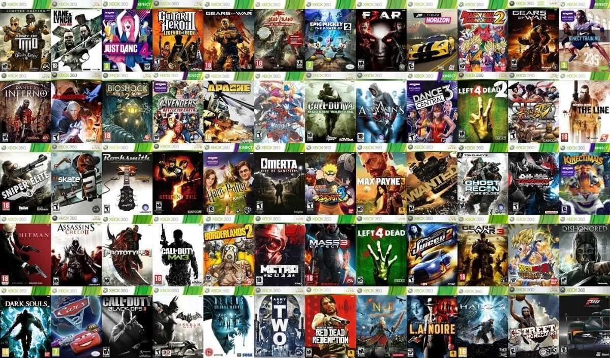 Licencia De Juegos Xbox 360 Leer Descripcion 800 00 En Mercado Libre