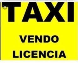 licencia de taxi desafectada año 2012 lista para transferir