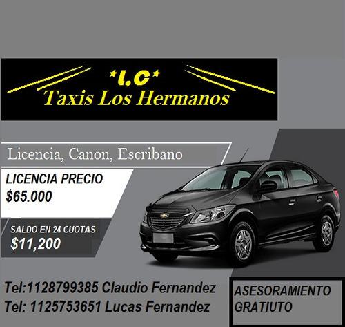 licencia de taxi  financio licencia prestamos