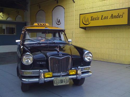 licencia de taxi g.c.b.a $158.000 taxis los andes
