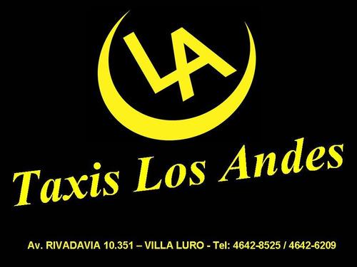 licencia de taxi g.c.b.a vendo!!!! taxis los andes