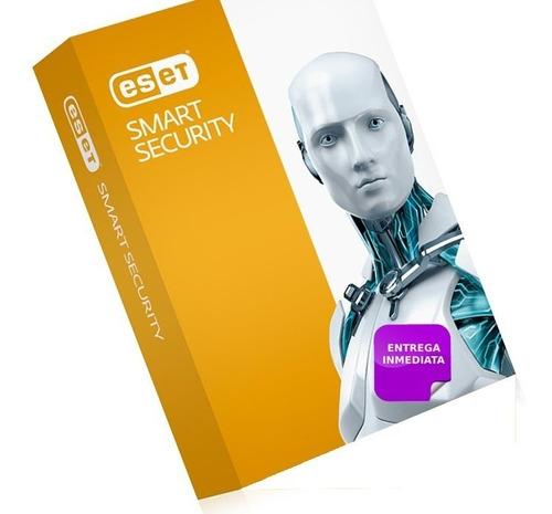 licencia eset smart security premiun v12 2020  3 pc x 1 año