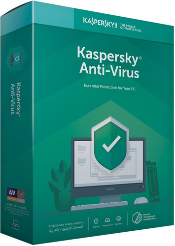 licencia kaspersky anti-virus 3 pc  2019 - 2020 2 años
