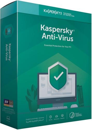 licencia kaspersky antivirus 10 pc 2018 - 2019 1 año