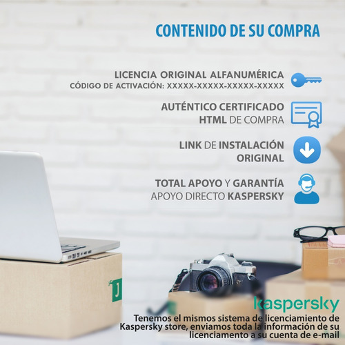 licencia kaspersky internet security 3 pc 2 años 2019 2020
