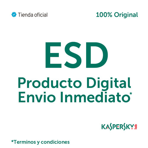 licencia kaspersky small office 6 for 10 pcs 1 server 2 años