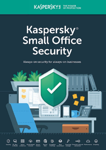 licencia kaspersky small office 6 for 20 pcs 2 server 2 años