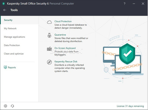 licencia kaspersky small office security 1servidor 1año 2019