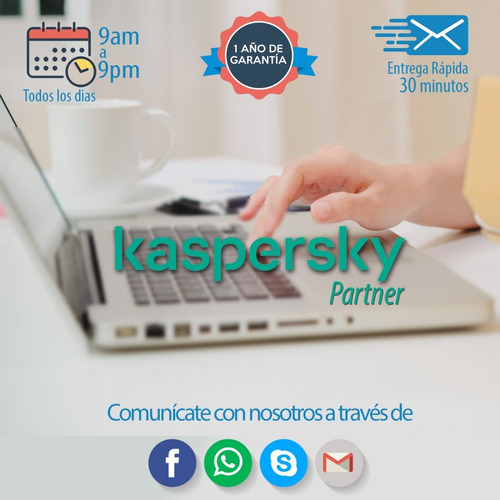 licencia kaspersky total security 10 pc