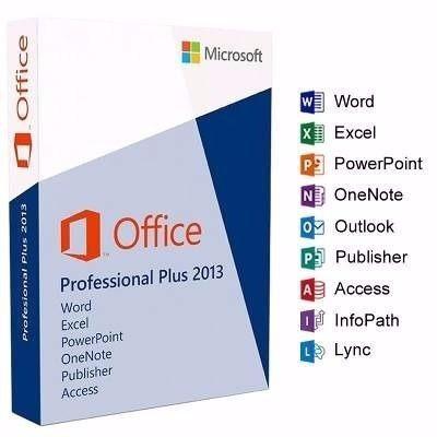 licencia office professional plus 2013 original. 1pc