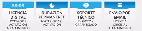 licencia  project  2016 digital 32 y 64 bits