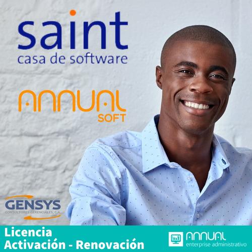 licencia saint  activación y renovación   24/7