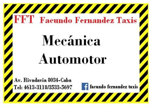 licencia taxi caba !desafectada y lista para transferir!