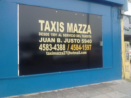licencia taxi de capital federal 2012 vendo $ 159.650