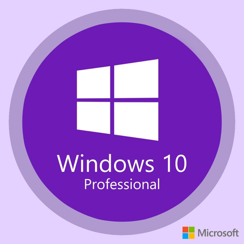 licencia windows 10 pro 32-64 bits