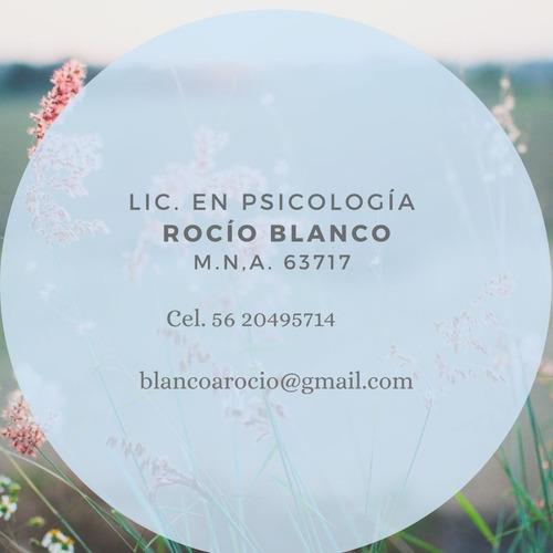 licenciada en psicología