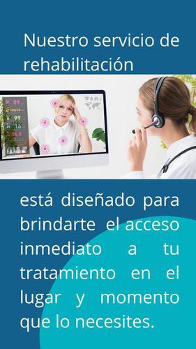 licenciado en kinesiologia y fisioterapia. rehabilitación