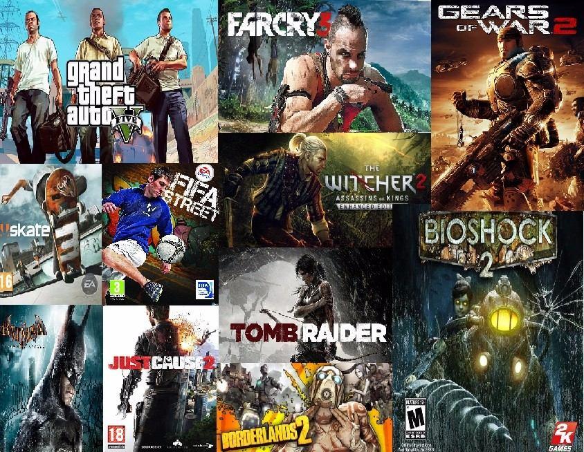Licencias 28 Juegos Xbox 360 Gta V Gow 2 Bioshock 2 Etc