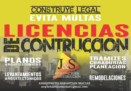 licencias de construcción a nivel nacional
