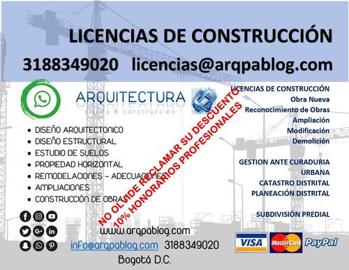 licencias de construccion - arquitecto