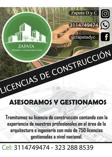 licencias de construcción, planos