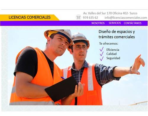 licencias de funcionamiento y construcción