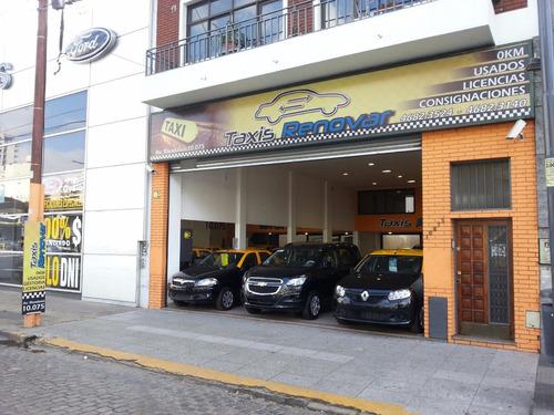 licencias de taxis renault logan 1.6 gnc 2014