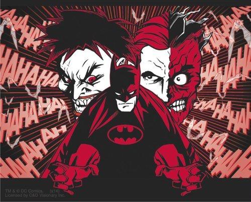 licencias productos dc comics batman joker y two cara sticke