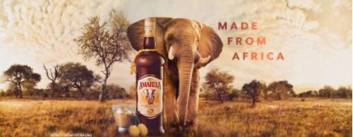 licor africano amarula original garrafa 750ml