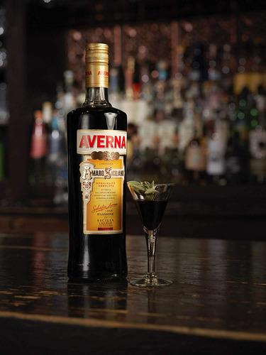 licor averna amaro siciliano 700 ml original botella bebidas