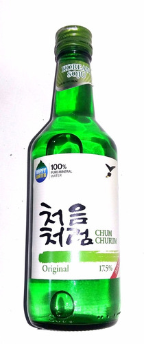 licor chum churum coreano 360 ml comida regalo chino sake