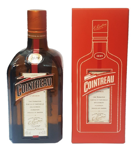 licor cointreau con estuche 700ml